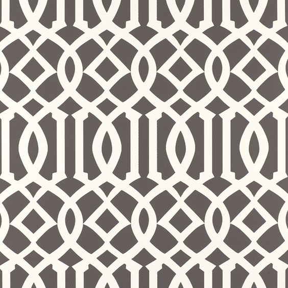 Schumacher's Imperial Trellis Wallpaper