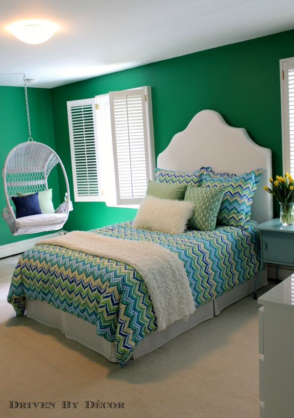 Tween bedroom makeover the reveal driven by decor - Cute bedroom ideas for tweens ...