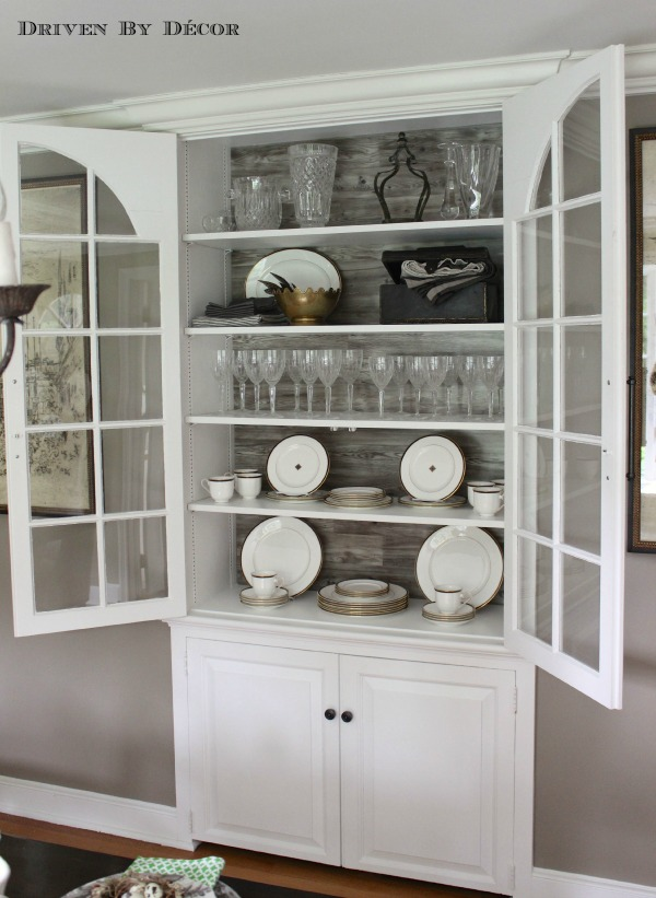 Diy Kitchen Cabinets Using A China Cabinet