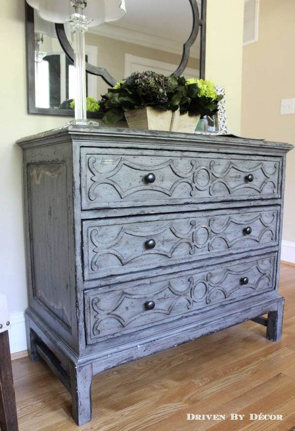 Beautiful chest of drawers for a foyer