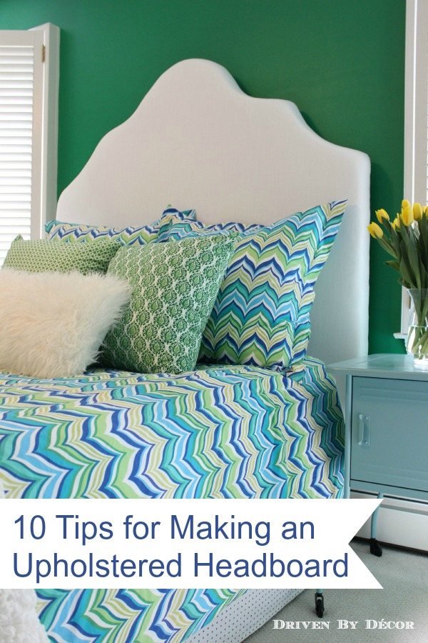 How to Make a Simple Upholstered Headboard