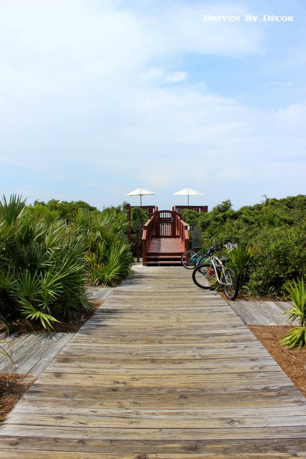 Strolling Through Rosemary Beach