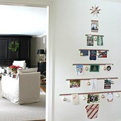 Christmas Card Tree Display