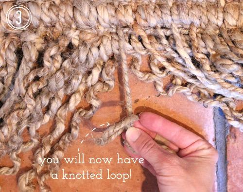 Step 3 - Knotted Loop