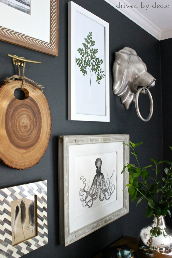 Driven by Decor - Eclectic Art Wall