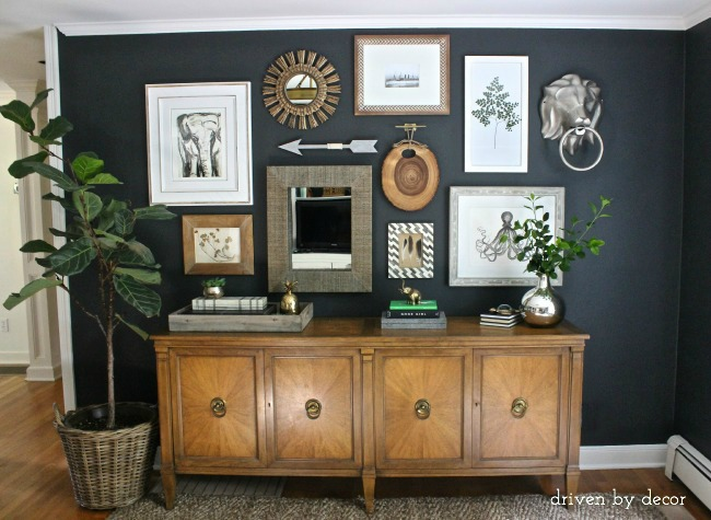 Miraculous My Home Office Gallery Wall Reveal Tips Driven By Decor Largest Home Design Picture Inspirations Pitcheantrous