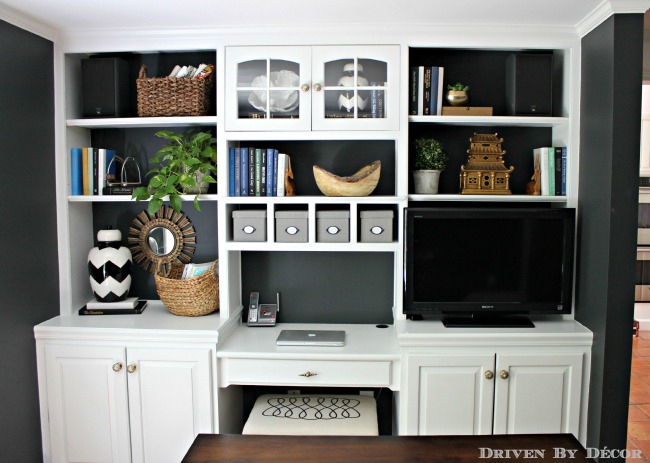 Office bookcase shelves