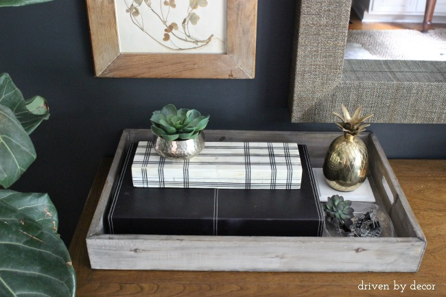 Driven by Decor - Storage boxes and tray in home office