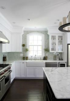 Kitchen Backsplash Tile: How High to Go?