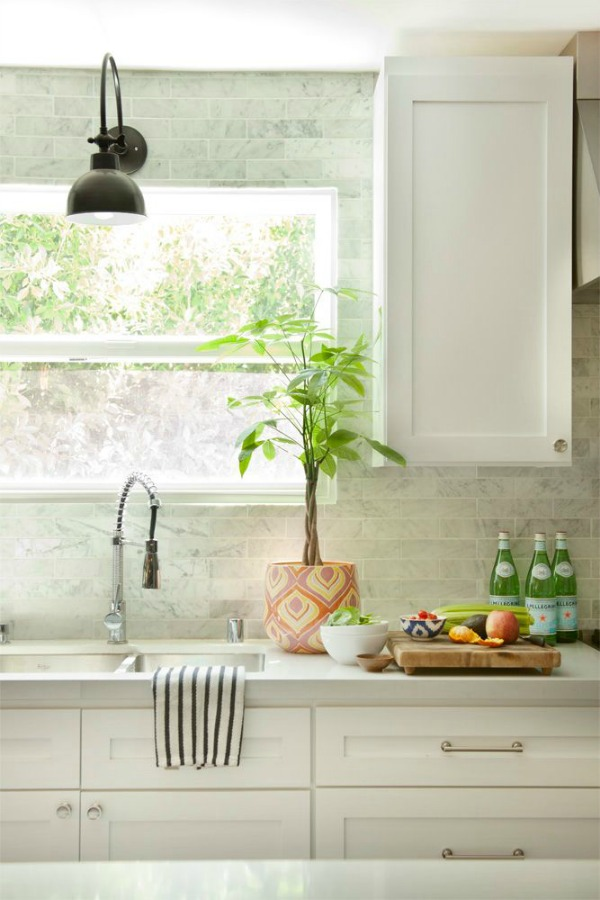 Kitchen backsplash tile how high to go driven by decor for Windowless kitchen sink