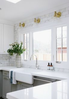 Kitchen Backsplash Tile: How High to Go?