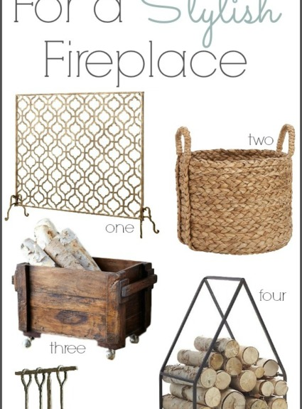 Stylish Fireplace Accessories