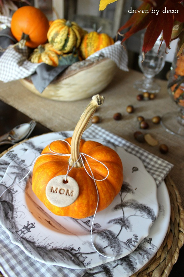 My Thanksgiving Table & A Favorite Recipe