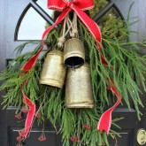 Front Door Decoration - Holiday Greenery