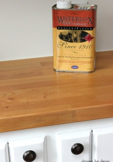 Treating Butcher Block Countertops: Waterlox vs. Mineral Oil