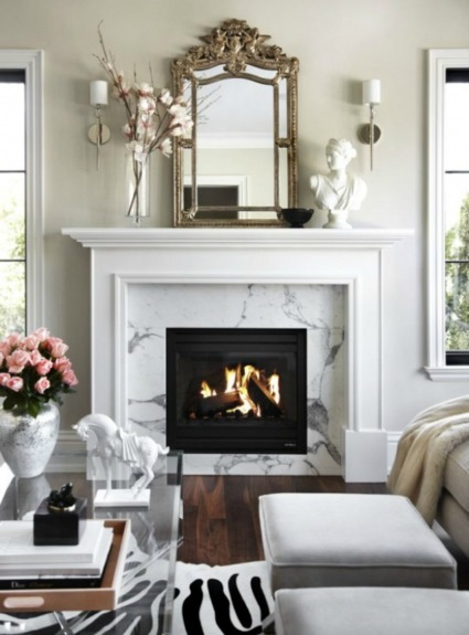 Inspiration for Remodeling Our Fireplace