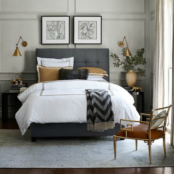 How to hang artwork must have tips driven by decor - Over the bed art ...