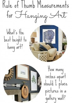 How to Hang Artwork: Must-Have Tips!