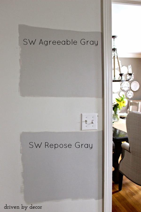 Sherwin Williams Agreeable Gray Versus Repose Two Great Paint Colors