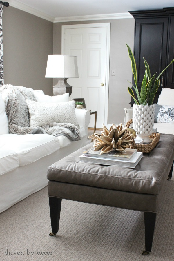 Gives Tips On Choosing The Right Size Coffee Table For Your Space