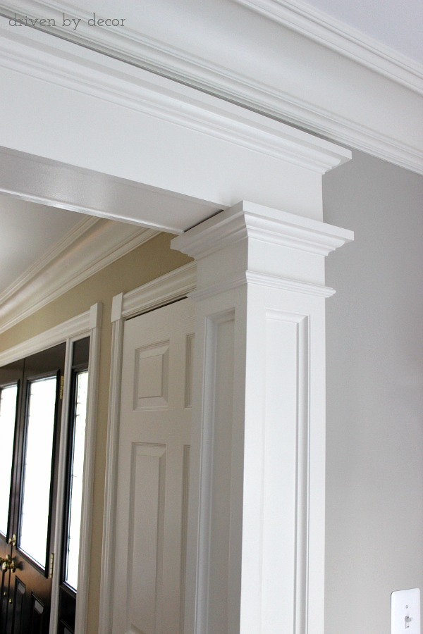 Doorway molding design ideas driven by decor for Decor moulding