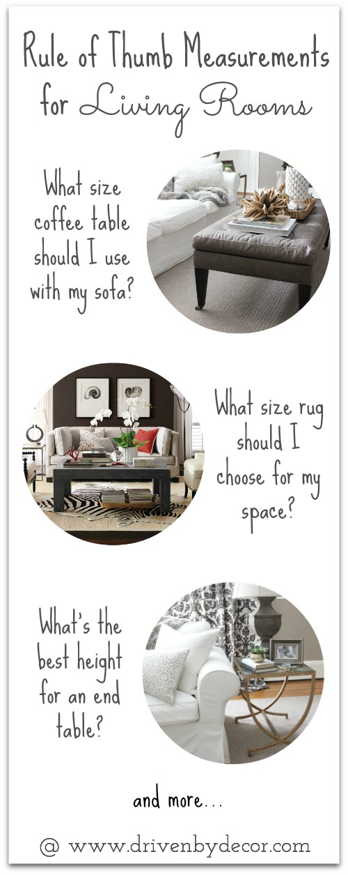 Must Have Tips For Choosing End Tables, Coffee Tables And Rugs