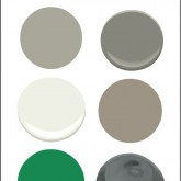 Our Home's Paint Colors (Driven by Decor)
