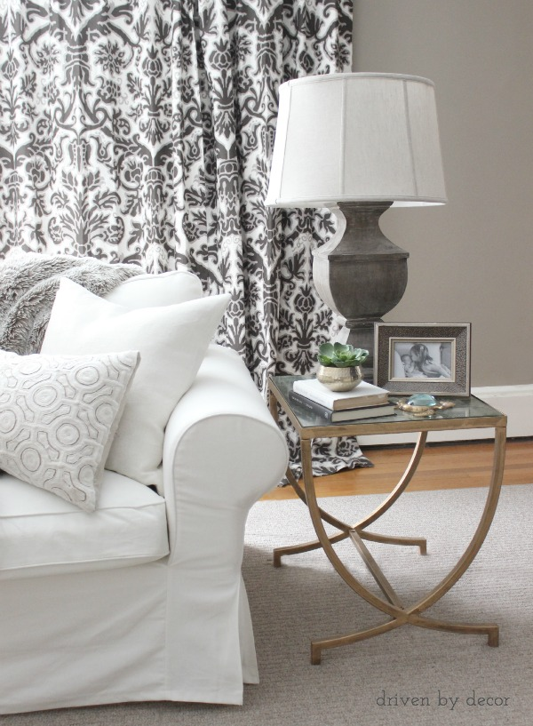 Side Table Decor : Decorating Your Living Room: Must-Have Tips - Driven by Decor