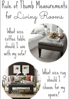 Decorating Your Living Room: Must-Have Tips