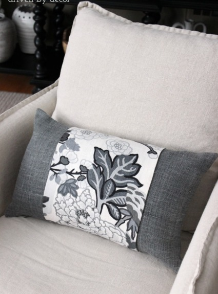 A Simple Trick for Dressing Up Pillows (& Getting Designer Fabrics for a Steal!)