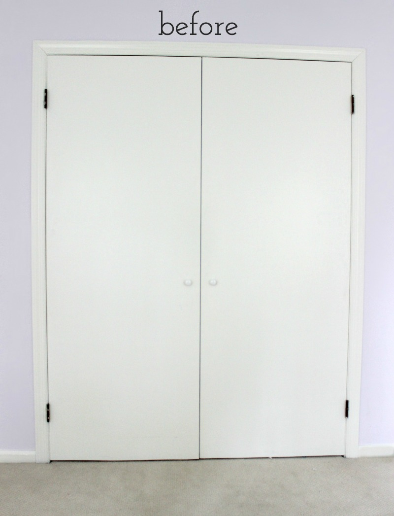 how to update plain closet doors by driven by decor featured on