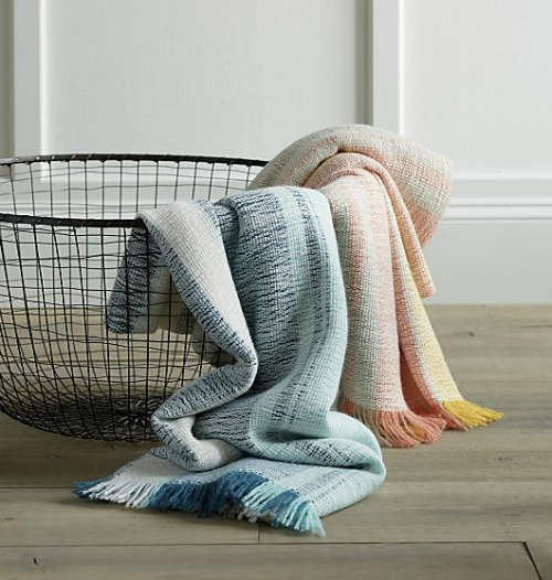 Crate and Barrel: Pickett Mango Throw