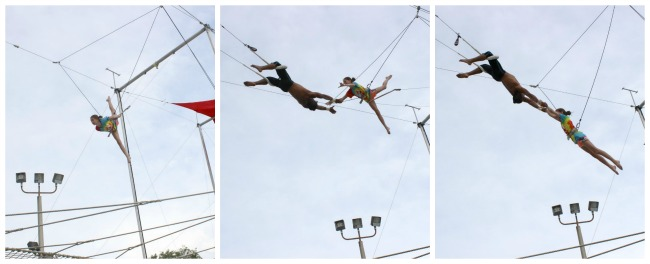 Club Med Trapeze Catch