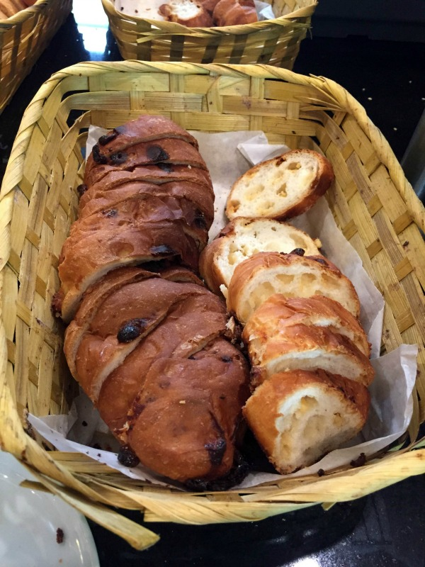 Club Med White Chocolate Bread