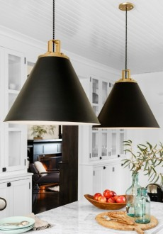 Kitchen Inspiration: Cone Pendant Lighting