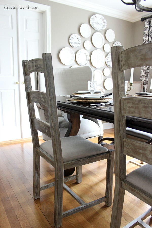 Ladderback Dining Room Chairs
