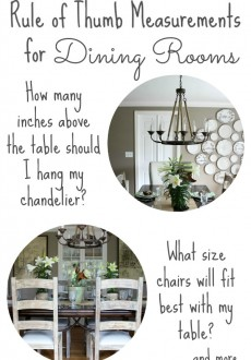 Decorating Your Dining Room: Must-Have Tips