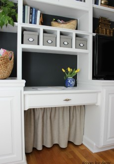 Hiding our Home Office Cords and Wires (With Style)