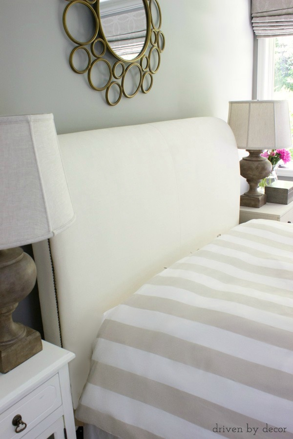 A fluffy duvet adds loft and a look of luxury to your bed