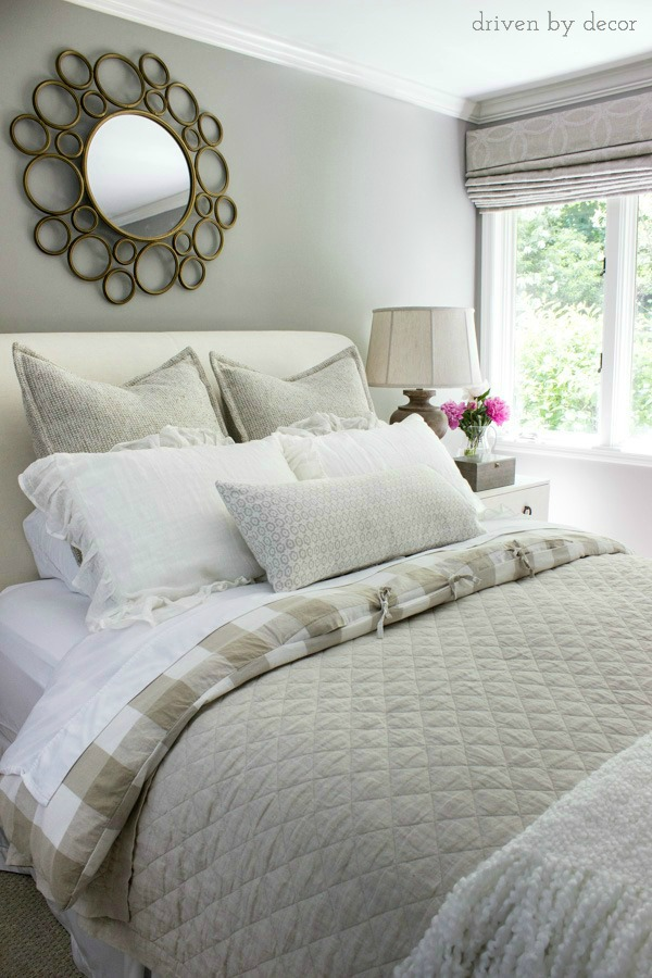 8 Simple Steps to Making the Perfect Bed | Driven by Decor