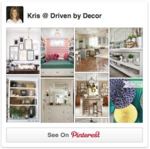 Pinterest Sidebar