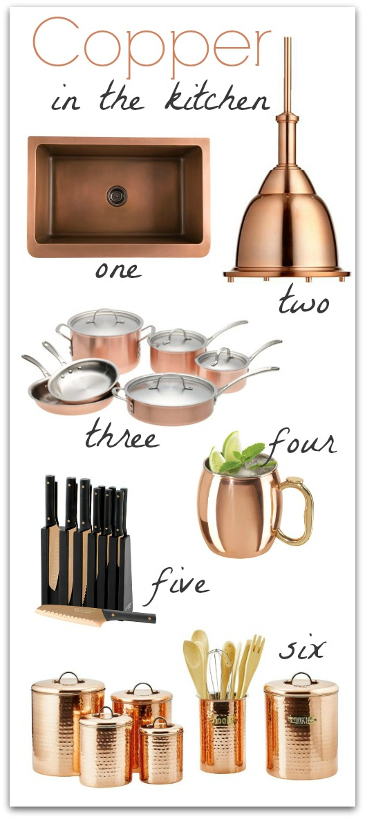 Copper In The Kitchen Driven By Decor