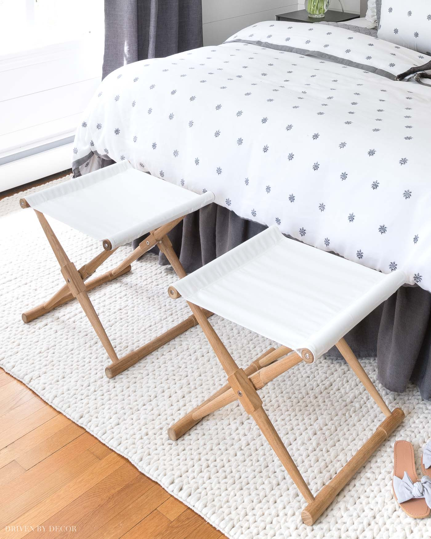Pair Bed Stools: 8 Simple Steps To Making The Perfect Bed