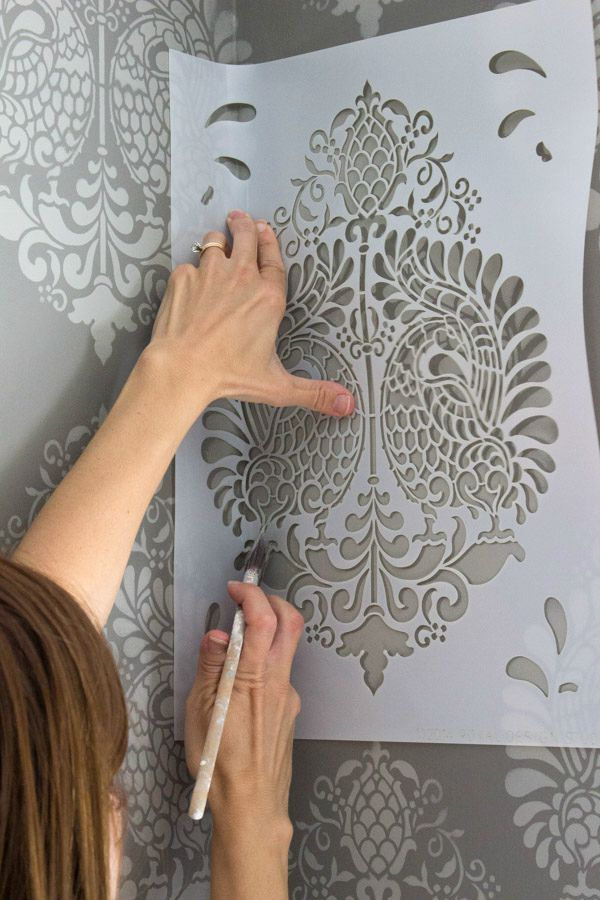 How To Make Stencil Wall Paint
