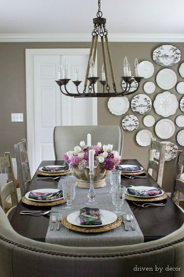 Must-Have Lighting Tips - What size chandelier to choose for your space and how high to hang it