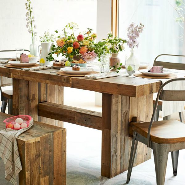 West Elm's Emmerson Reclaimed Wood Dining Table
