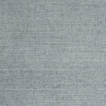 Blue grasscloth wallpaper