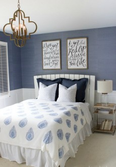 Modern Coastal Bedroom Makeover Reveal!
