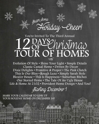 12 Days of Christmas Tour of Homes