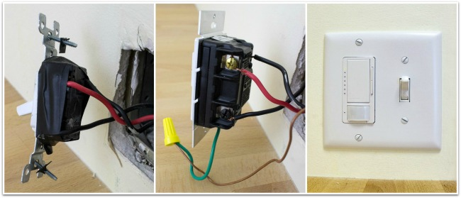 Installation of Lutron Motion Sensor